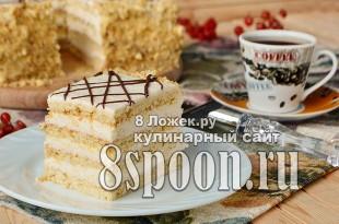 медовый торт в домашних условиях фото_14