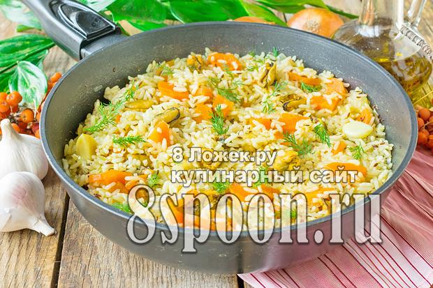 Рис с морепродуктами фото_1