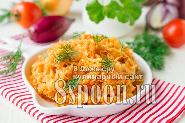 Солянка из свежей капусты, фото рецепт солянки из свежей капусты